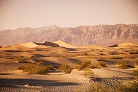 USA, California, Death Valley, Empty desert