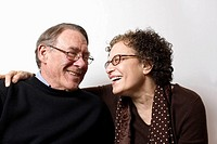 Sixty-year-old couple