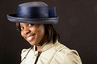 Victoria Glover.  Celebrating church hats and the women who wear them at Christ Pilgrim Rest MB Church in St. Louis