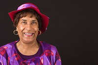 Patricia Green.  Celebrating church hats and the women who wear them at Christ Pilgrim Rest MB Church in St. Louis