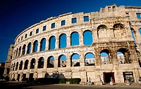 The Arena, Pula, Croatia, Europe