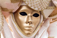 Mask in the carnival of Venice. Italy