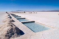 Salt Extraction, Salinas Grandes, Jujuy, Argentina