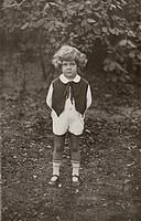 Menschen hist , Kinder, Ganzfigur, 1920er Jahre, Mode, Kindermode, 20 Jahrhundert,
