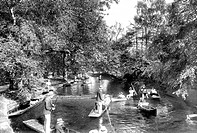 Oxford, view on the Cherwell 1922