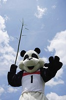 Panda Throwing Javelin