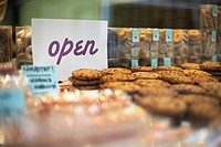 Cookie Counter With Open Sign