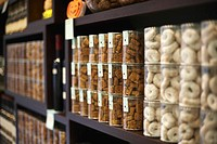 Cookie Jars on Shelf