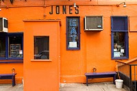 Great Jones Café. New York city. USA