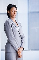 Portrait of African American businesswoman