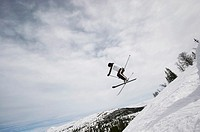 Norway, Rondane National Park, Norway, Rondane National Park, Skier jumping