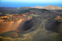 Timanfaya National Park, Lanzarote, Canary Islands Spain