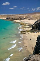 Papagayo Beaches, Lanzarote, Canary Islands, Spain