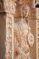 Portugal, Lisbon, Belém, Mosteiro dos Jeronimos monastery, cloister