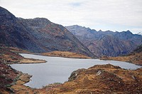 Chebrala lake , beyond sella pass , arunachal pradesh , india