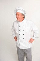 Chef, hands on hips
