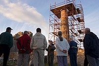 Lecture at Tankardstown, Copper Mine Head, Copper Coast, Co Waterford, Ireland