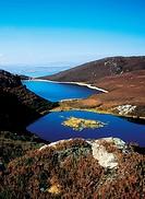 Co Donegal, Fanad, Knockalla Loughs,