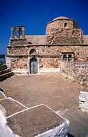 Cyclades, Kimolos Hora, Kastro, Chrisostomou church