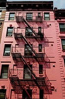 Fire escape. New York, USA