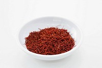 Bowl of saffron