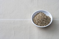 Cumin seeds in a bowl