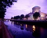 The Four Courts, Dublin. Ireland