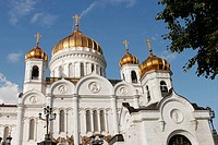 Cathedral of Christ the Saviour, Moscow. Russia