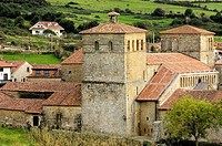 Romanesque collegiate church, Santillana del Mar. Cantabria, Spain