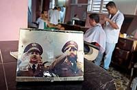 Hair dresser, Baracoa. Guantánamo province. Cuba.