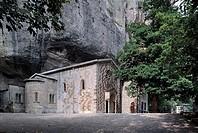 Italy - Emilia Romagna Region - Castelnuovo de' Monti - Bismantova Hermitage