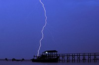 Tioman, a lightning bolt