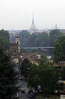 Turin, the tower of the Mole Antonelliana