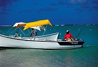 Mauritius, Morne Brabant, boats