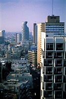Israel, Tel Aviv, downtown