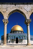 Israel, Jerusalem, Dome of the Rock