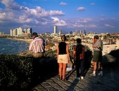 Israel, Tel Aviv, view from Jaffa