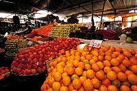Mauritius, Port-Louis, market, fruits stall