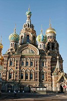 Church of the Resurrection (Church of the Bleeding Savior), St. Petersburg. Russia