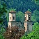 Monastry, ruin, Frauenalb, Marxzell, Albtal, Baden-Wurttemberg, Germany,
