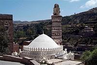 Mosque, Jiblah, Yemen,