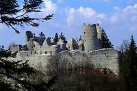 Castle, ruin, Kaufbeuren, Swabia, Allgau, Bavaria, Germany, Allgäu,