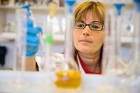 Chemistry laboratory, Water tests. AZTI-Tecnalia. Technological Centre specialised in Marine and Food Research. Pasaia, Gipuzkoa, Euskadi. Spain.
