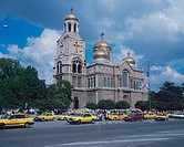 Cathedral, of, the, Assumption, orthodox, church, Varna, Bulgaria