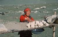 Kazak, woman