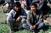Chukchi, eskimo, men