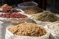 Close Up of Assorted Spices from Spice Souk  Dubai, United Arab Emirates