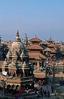 Nepal. Patan. Durbar Square.