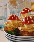 Potato cheese muffins