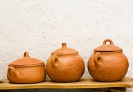 Pottery. Local handicraft from Vejer de la Frontera. Andalucia. Spain